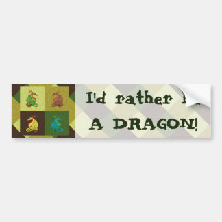 Sweet Dragon Collection Bumper Sticker