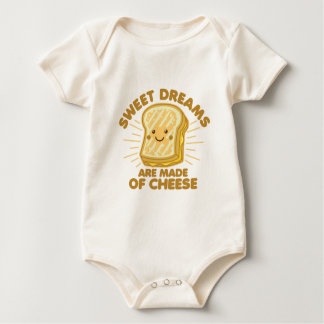 Sweet Dream are Made of Cheese Baby Bodysuit