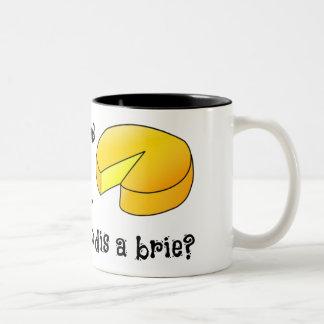 Sweet Dreams are Made of Cheese Two-Tone Coffee Mug