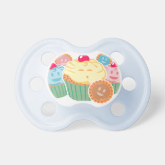 Sweet dreams are made of... cupcakes and cookies pacifiers