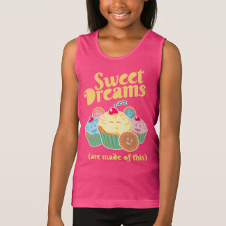 Sweet dreams are made of... cupcakes and cookies singlet