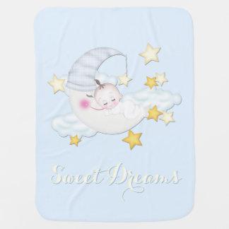 Sweet Dreams Baby Boy Baby Blanket