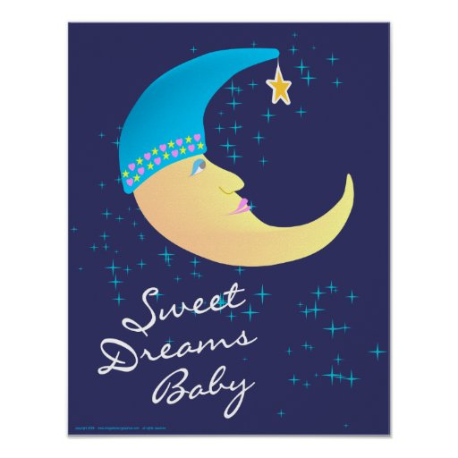 Sweet Dreams Baby Poster Print