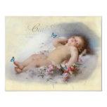 Sweet Dreams, Baby Shower 11 Cm X 14 Cm Invitation Card