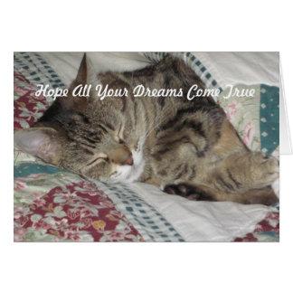 Sweet Dreams Kitty Card