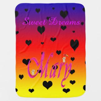 Sweet Dreams Mary, Baby Rainbow Heats Blanket