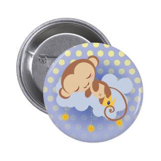 Sweet Dreams Monkey Button
