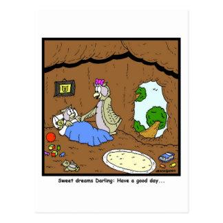 Sweet Dreams: Owl cartoon Postcard
