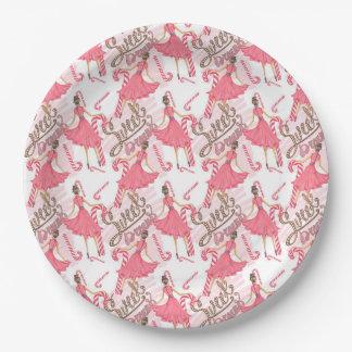 Sweet Dreams Paper Plate