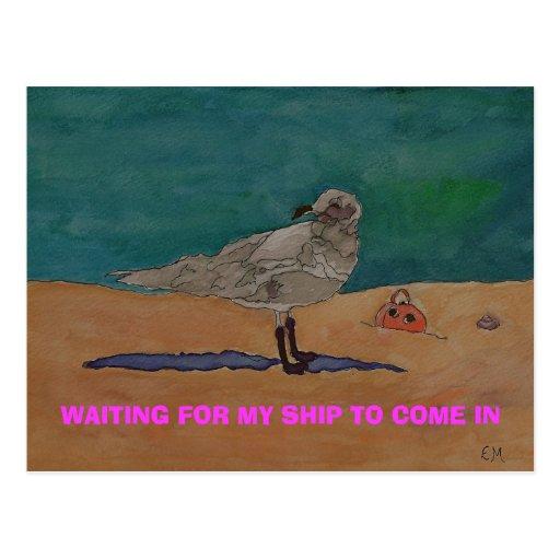 SWEET DREAMS- Postage Stamp Post Card