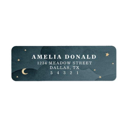 Sweet Dreams Return Address Label