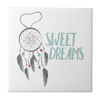 Sweet Dreams Small Square Tile