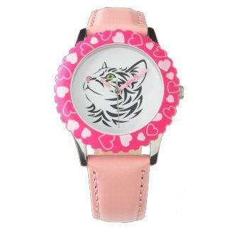 Sweet Face Kitty Cat eWatch Watch