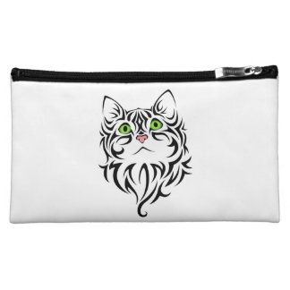 Sweet Face Kitty Cosmetic Accessory Bag