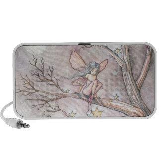 Sweet Fairy in Tree Doodle Speaker