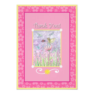 Sweet Fairy Matching Thank You Cards 13 Cm X 18 Cm Invitation Card