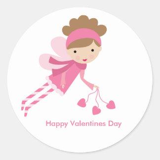 Sweet Fairy Valentines Day Sticker