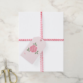 Sweet Floral Pattern Gift Tags