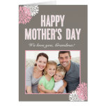 Sweet Florals Mothers Day Photo Card Greeting Card