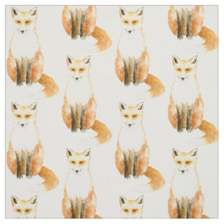 Sweet Fox Fabric