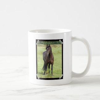 Sweet Friesian Horse  Coffee Mug