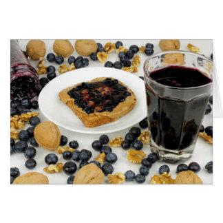 Sweet Fruit Nut Treats Card