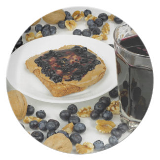 Sweet Fruit Nut Treats Plate
