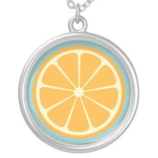 Sweet Fruity Orange Necklace