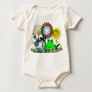 Sweet Garden Baby Bodysuit