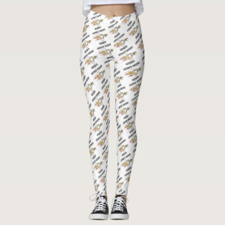 Sweet Genes Inside DNA Replication Humor Leggings