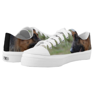 Sweet German Shepherd Dog Low Tops