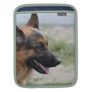 Sweet German Shepherd Dog Sleeve For iPads