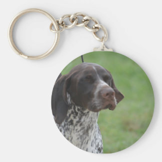 Sweet German Shorthaired Pointer Key Ring