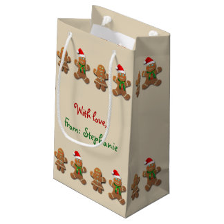 Sweet Gingerbread Cookies Small Gift Bag