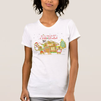 Sweet Gingerbread House T-shirt