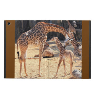 Sweet Giraffes, Mom and Baby, iPad Air iPad Air Cover