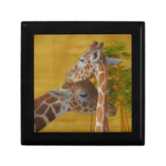 Sweet Giraffes - Painting Gift Box
