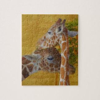 Sweet Giraffes - Painting Jigsaw Puzzle