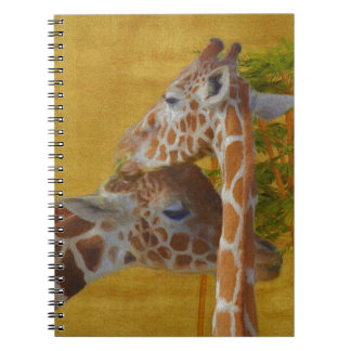 Sweet Giraffes - Painting Notebook