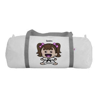 Sweet Girl's Karate Duffel Bag Gym Duffel Bag