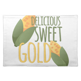 Sweet Gold Placemat