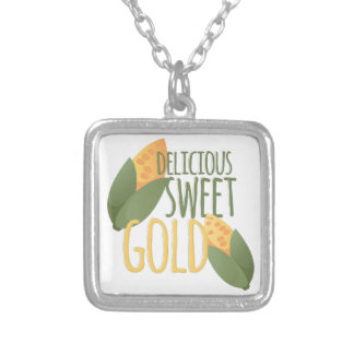 Sweet Gold Silver Plated Necklace