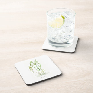 Sweet Grass Illustration Drink Coaster