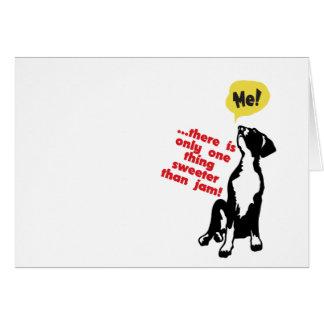 Sweet Great Dane Puppy Greeting Card