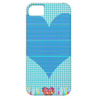 Sweet Heart Blue iPhone 5 Cases