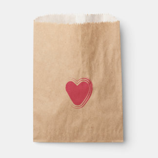 """SWEET HEART"" FAVOUR BAGS"