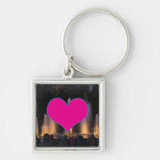 SWEET Heart GiveAway Gifts Purple Template add txt Key Chain