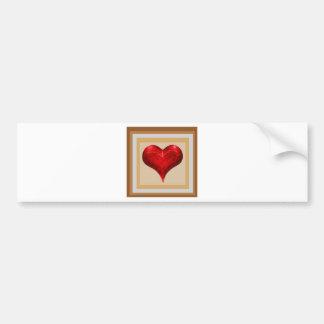 Sweet Heart - LOVE is in the air Bumper Sticker