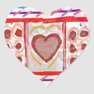 Sweet Heart n Sweet Chocolates: KIDS art Heart Sticker