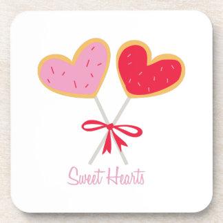 Sweet Hearts Drink Coaster